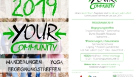 yOUR Community Flyer 2019 © Christin Finger